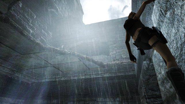 Licht am Ende des Tunnels: Im November lösen wir wieder Rätsel mit Lara Croft.