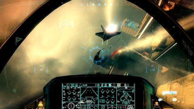 Wie im ersten Black Ops steuert ihr auch Fluggeräte und Fahrzeuge.