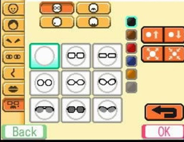 Die Mii-Erstellung ist so umfangreich wie schon auf der Wii.