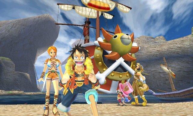 Die Strohhut-Bande auf dem 3DS - na, das kann ja heiter werden!