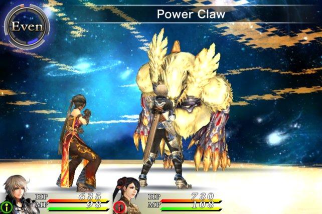 Final-Fantasy-Spieler finden sich bei den Rundenkämpfen schnell zurecht.
