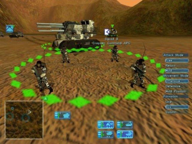 Die Einheiten sind sehr detailliert dargestellt.