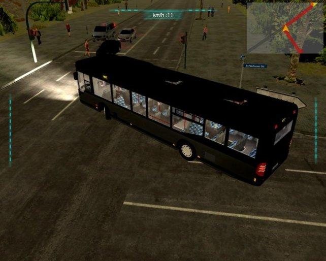 Alles einsteigen, bitte. Der Bus fährt gleich los!