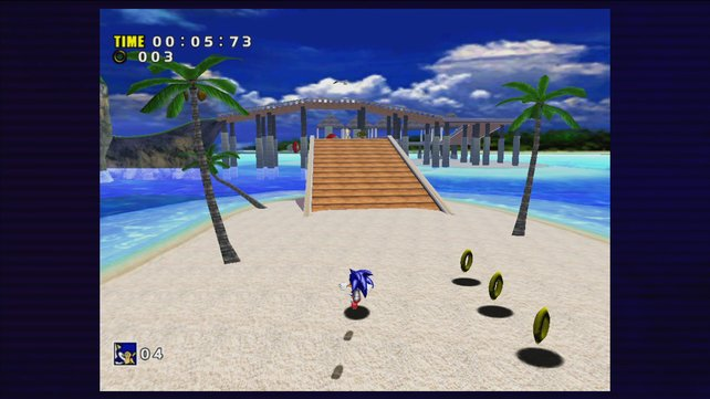 Südseeidylle in Sonic Adventure.