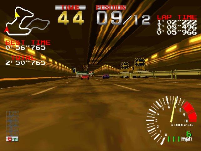 Tunnelfahrten sind charakteristisch für den ersten Kurs.