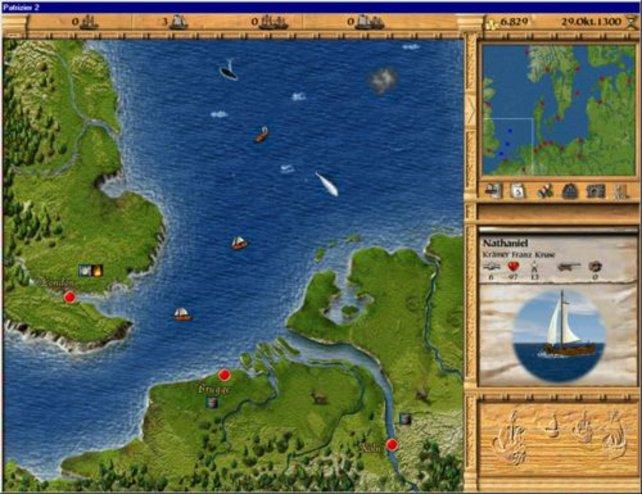 Der  übersichtliche Seekarten-Bildschirm