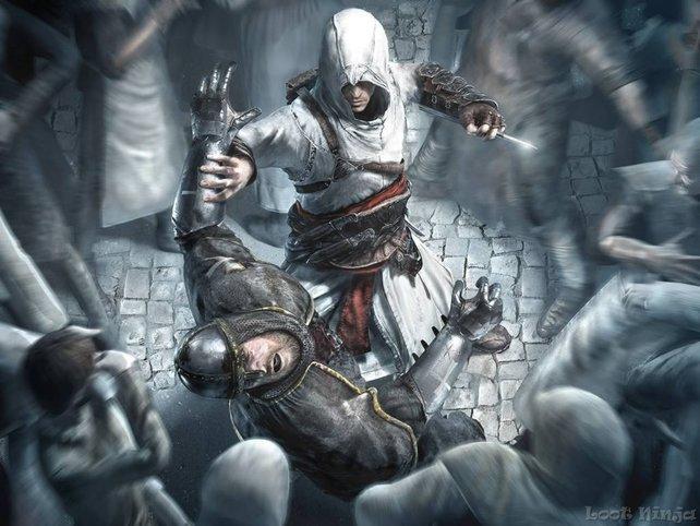 Die Assassinen greifen aus den Schatten an.