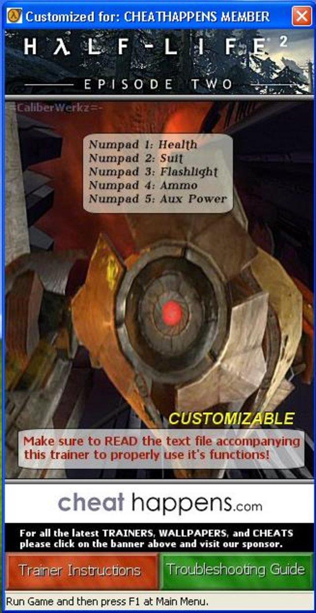 Half life 2 update: трейнер/trainer (+5) [1. 0] {mrantifun.