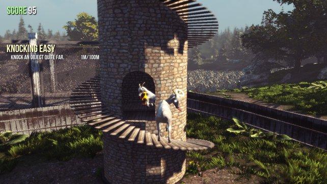 Goat Simulator - Fundorte der Ziegen-Trophäen in Goatville ...