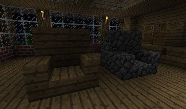 Minecraft Hausbau Einrichtung Und Zubehör Spieletipps - Minecraft haus inneneinrichtung ideen