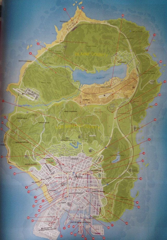 Grand Theft Auto 5 Monster Stunts Spieletipps