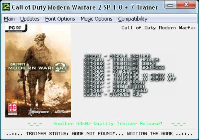 Call of Duty - Modern Warfare 2 - Trainer | spieletipps