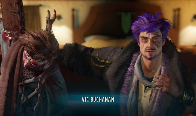 Vic ist ein übler Psychopath, wie unschwer auch auf dem Bild zu erkennen ist.