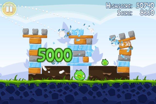 So oft heruntergeladen wie kein anderes Handy-Spiel: Angry Birds.