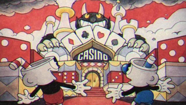 Noch rechnen die beiden nicht mit den Folgen ihres Casino-Besuchs.