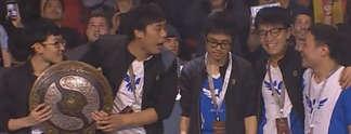 Dota 2: Chinesisches Team gewinnt Turnier The International mit Rekord-Preisgeld