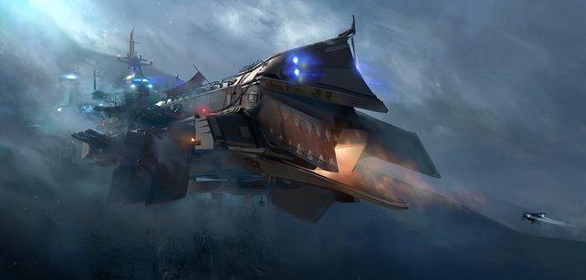 Was ist cooler als ein Piraten-Kapitän? Ganz einfach: ein Weltraumpiraten-Kapitän mit eigenem Raumschiff!