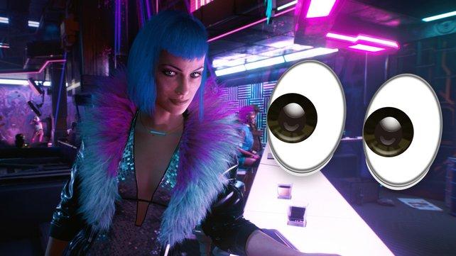Cyberpunk 2077: Erste PS4-Spiele in freier Wildbahn gesichtet