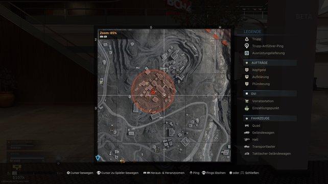Die Teams in den Top 3 werden stets auf der Karte markiert. Traut ihr euch?