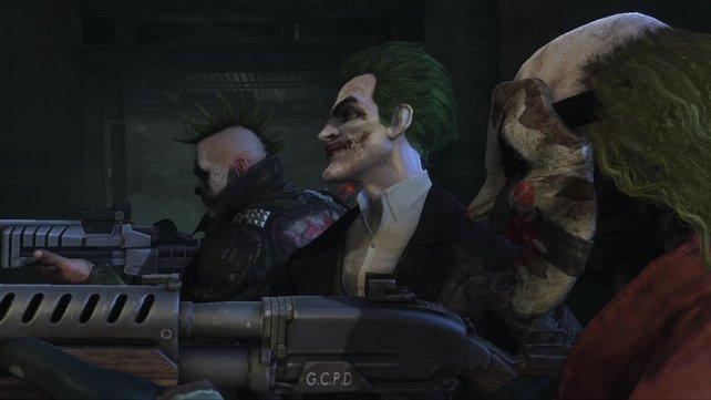 Achtung: Die Joker-Gang schießt scharf.