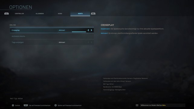 Schon in der Beta-Phase war Crossplay in Modern Warfare verfügbar.