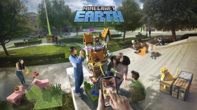 Ob Minecraft Earth einen ähnlichen Hype wie Pokémon Go auslösen wird? Registrieren könnt ihr euch immerhin schon.