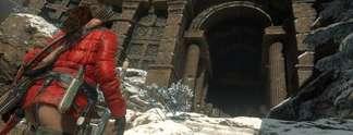 Rise of the Tomb Raider auf PS4: Erlebt 10 Minuten Spielszenen im Video