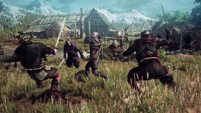 In Kämpfen wird The Witcher 3 schnell chaotisch.