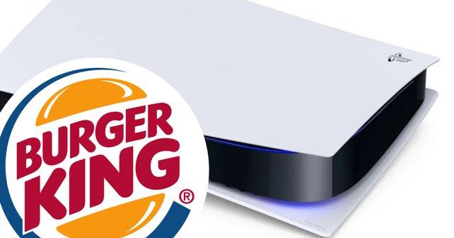 """1.000 """"Burger King""""-Kunden könnten mit viel Glück eine PS5 ergattern. Aber Deutschland geht leider leer aus."""