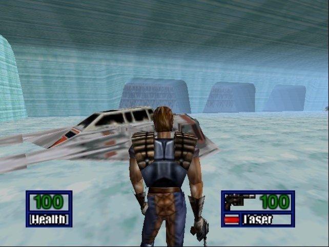 Steht erstmal im Mittelpunkt. Der Eisplanet Hoth.