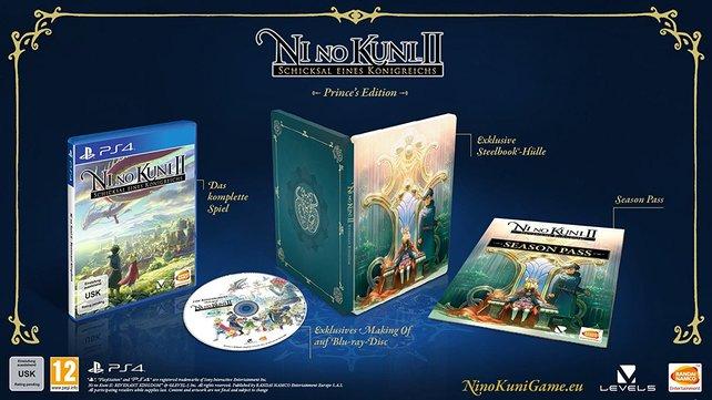 Das sind die Inhalte der Prince's Edition von Ni No Kuni 2 - Revenant Kingdom.