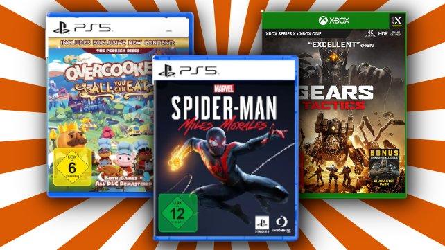 Jetzt bei Amazon: Drei Spiele kaufen und nur zwei bezahlen.