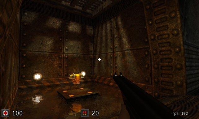 Ein altes Spiel mit schönen Multiplayer-Erinnerungen für mich: Cube 2 - Sauerbraten