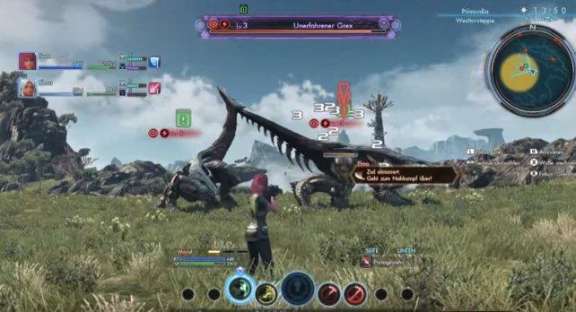 Angriff in die Flanke des Gegners