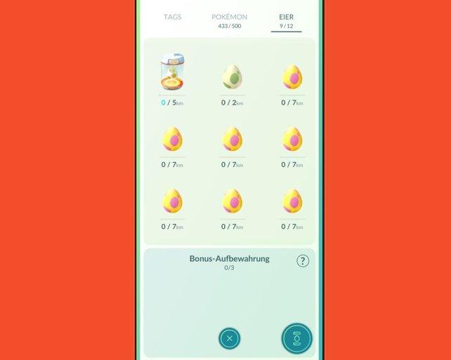 In Pokémon GO können besondere Pokémon und Shinys aus Eiern schlüpfen.