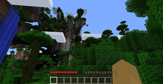 Ihr könnt Minecraft im Multiplayer spielen, müsst dafür aber einen Server erstellen und den Port für eure Freunde freigeben.