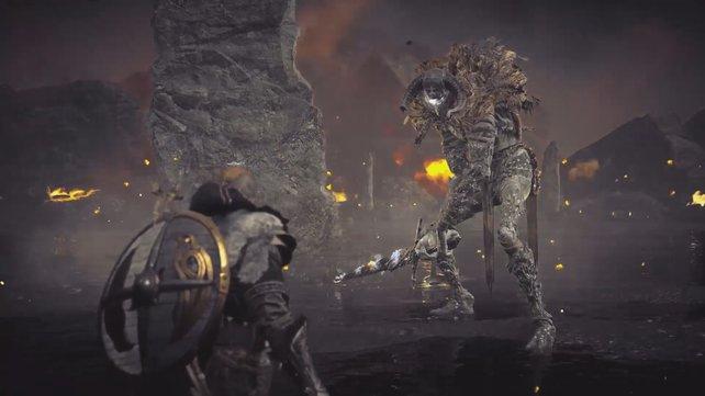 Um an den Speer Gae Bolg zu gelangen müsst ihr zunächst den mächtigen Balar besiegen.