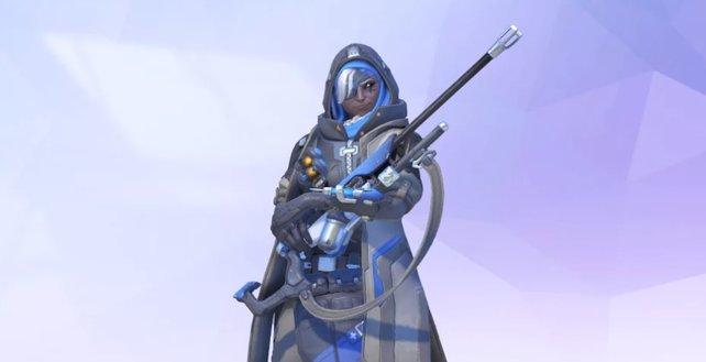 Kopfgeldjägerin Ana gehört zu den Gründungsmitgliedern von Overwatch.