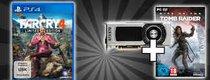 Schnäppchen des Tages: Far Cry 4, GeForce-Grafikkarten mit Tomb Raider gratis
