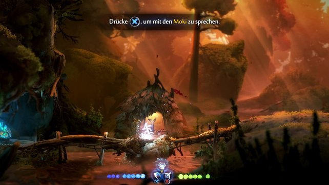 Der Moki in der Brunnenquelllichtung hat eine Quest für euch.
