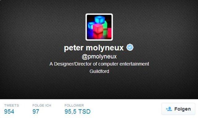 Peter Molyneux gilt als der Vater der Göttersimulationen.