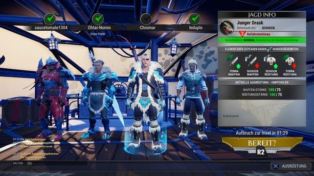 Crossplay zwischen PC, PS4 und Xbox One versüßen das Spielerlebnis.