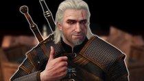Auch in PS1-Grafik sieht Geralt immer noch heiß aus