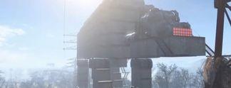 Fallout 4: Siedlung als AT-AT nachgebaut