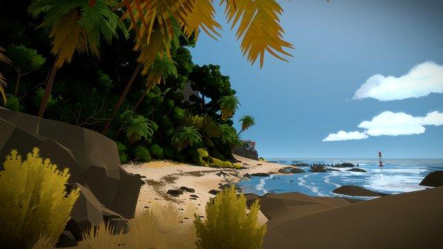 The Witness: Auf dieser bildschönen Insel in könnte man doch glatt ein paar Wochen Urlaub machen.