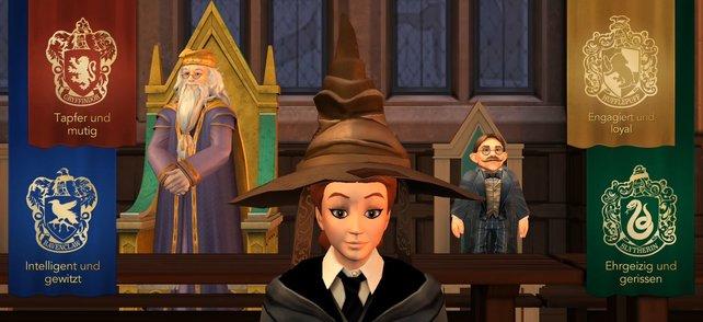 Für welches Haus in Hogwarts sichert ihr euch den Hauspokal?