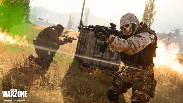 CoD: Warzone - 150 Spieler gehen rein, der letzte Überlebende gewinnt.