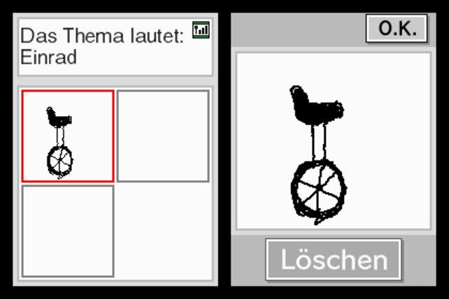 Zum Glück sind die Gehirn-Jogging-Spiele für den Nintendo DS erschienen! Wie hätte man sonst solch kunstvolle Kritzeleien einbauen können?