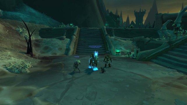 Das Mount Pegasus in WoW Shadowlands