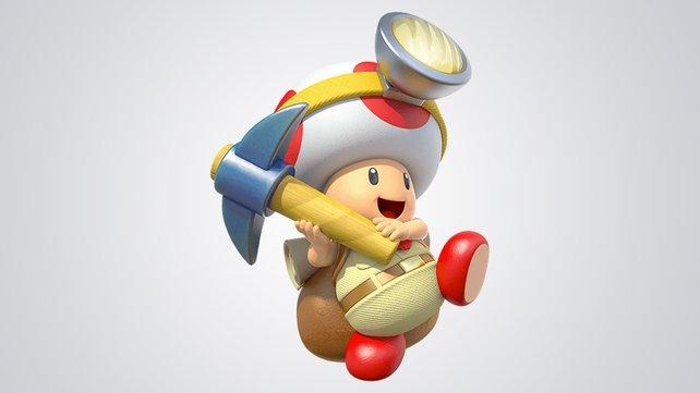 Nach Schätzen zu jagen ist seine Berufung: Captain Toad. Vielleicht auch in der Kampfarena?